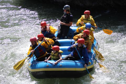 Tieton River Whitewater Rafting (First 4 Weekends in September)