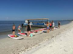 Paddleboard Boat Excursion