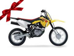 Suzuki DRZ125 Rider Package Gift Card