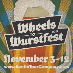 WHEELS TO WURSTFEST!