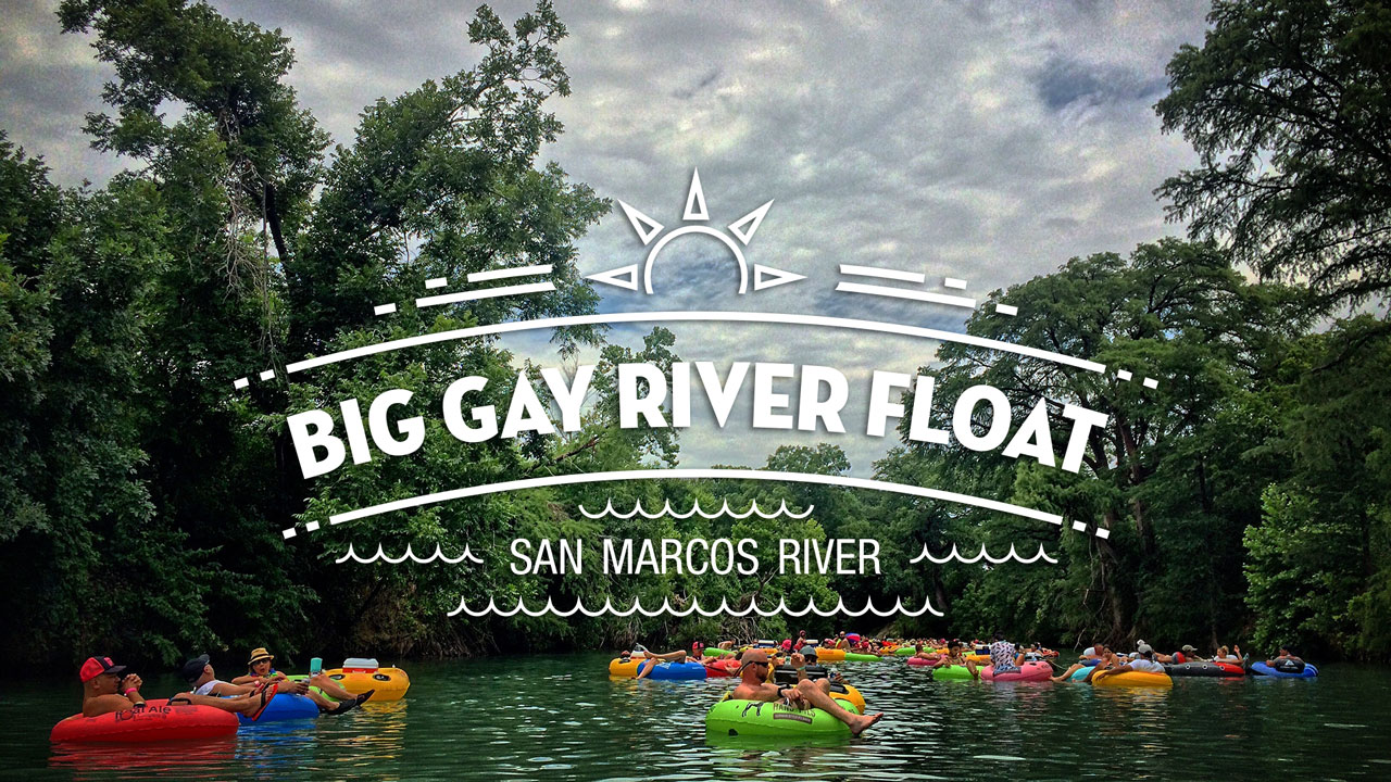 BIG GAY RIVER FLOAT - San Antonio Bus