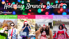 HOLIDAY BRUNCH BOATS