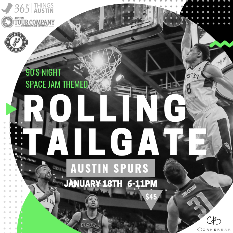 ROLLING TAILGATE: Austin Spurs