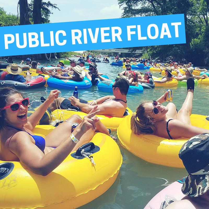 PUBLIC RIVER FLOAT