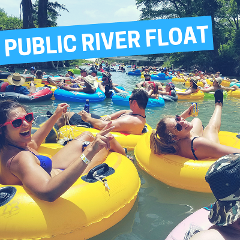 PUBLIC RIVER FLOAT