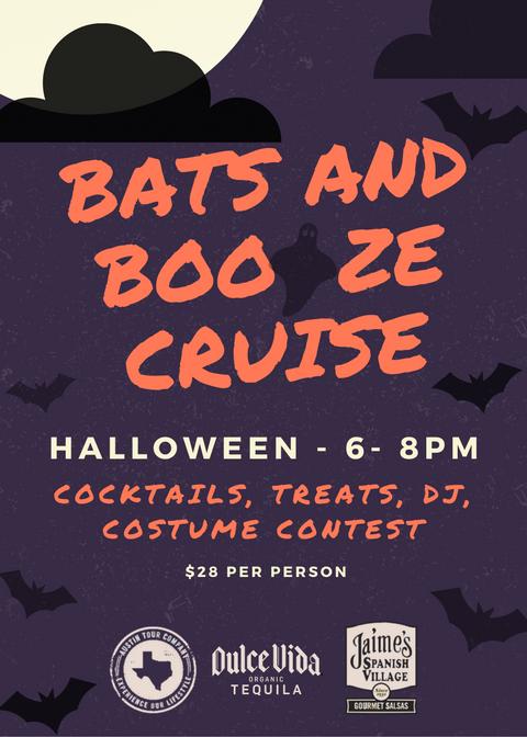 Bats and Booze Cruise!