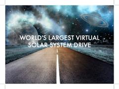 DRIVE TOUR - Virtual Solar System Drive Highlights with Fred Watson (App)