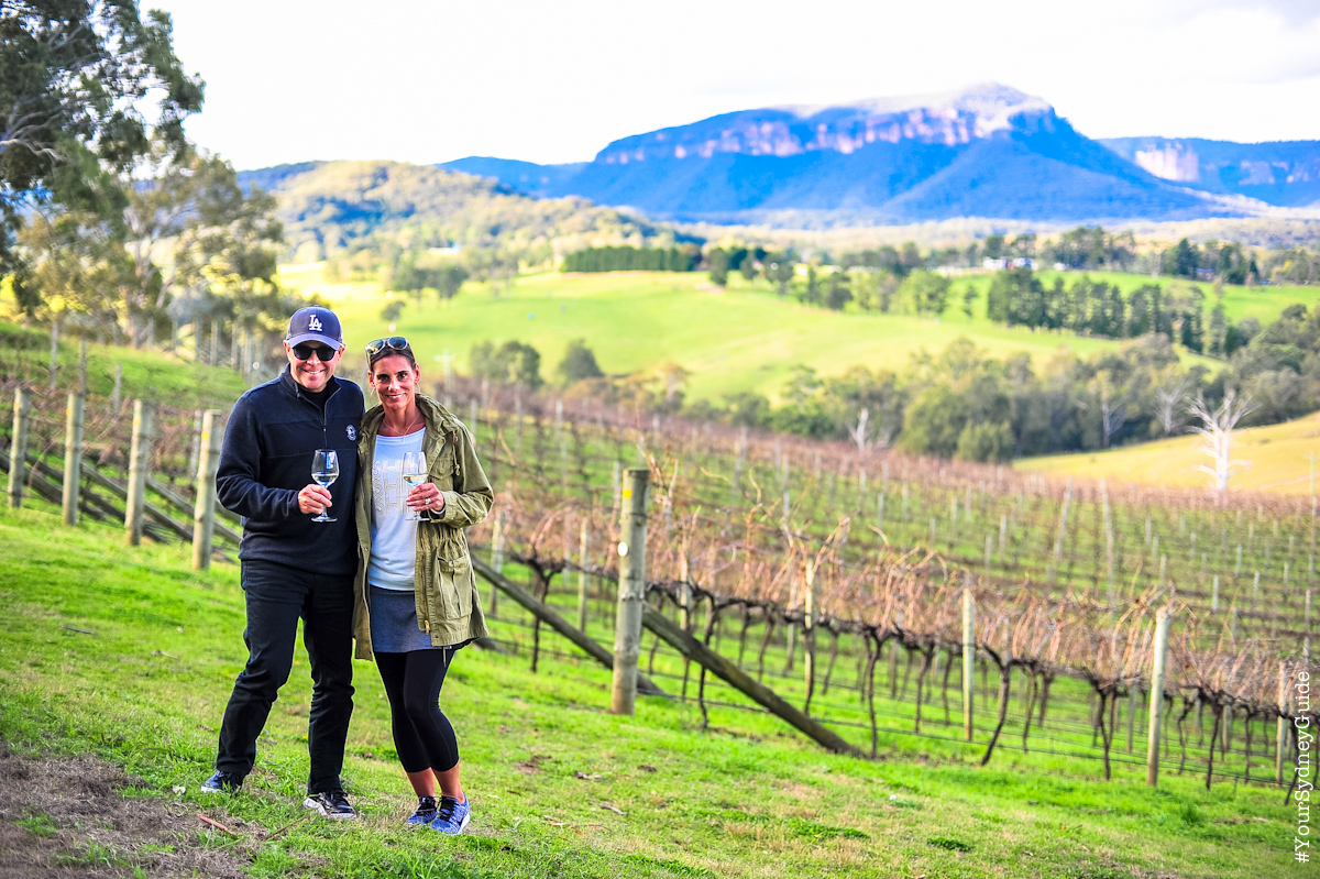 Blue Mountains Private Tour with Winery Visit and Tasting
