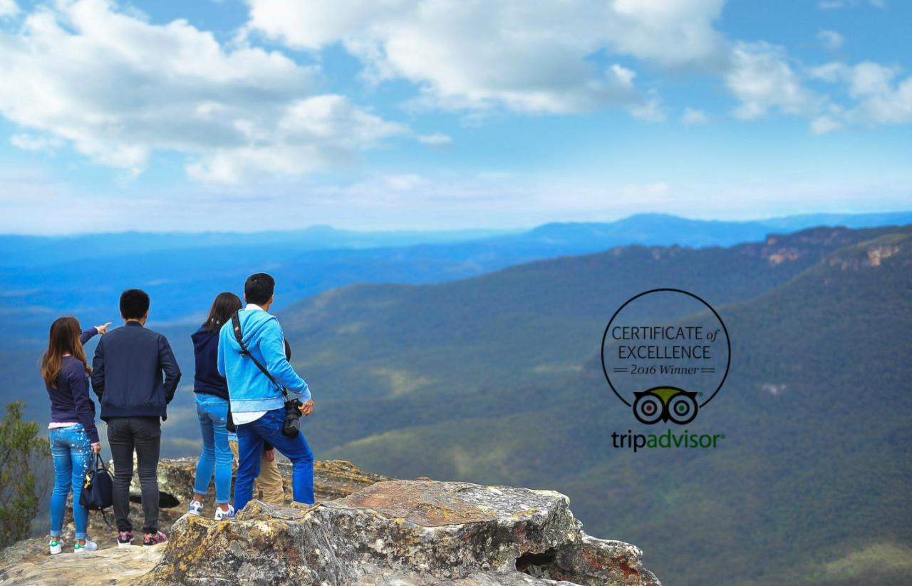 Into the Blue - Blue Mountains Private Full Day Tour