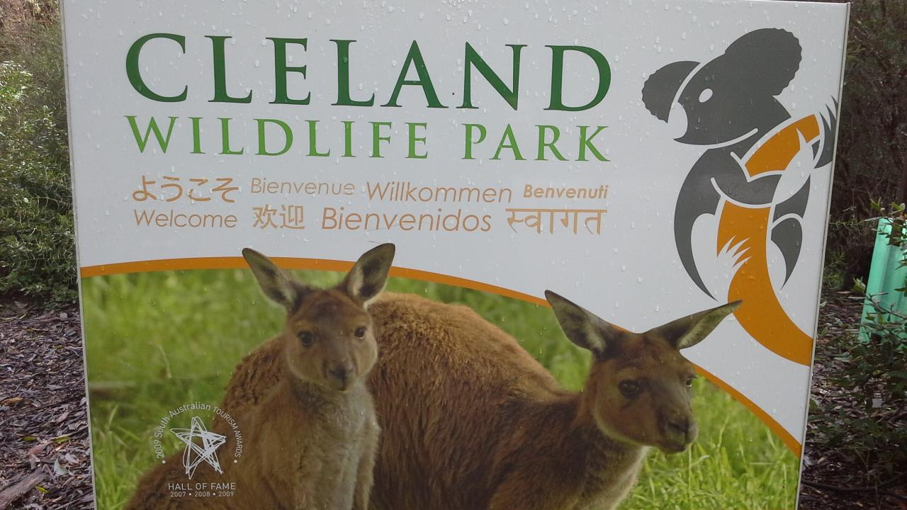 Cleland Wildlife Park, Adelaide Hills & Hahndorf - EX Outer Harbor