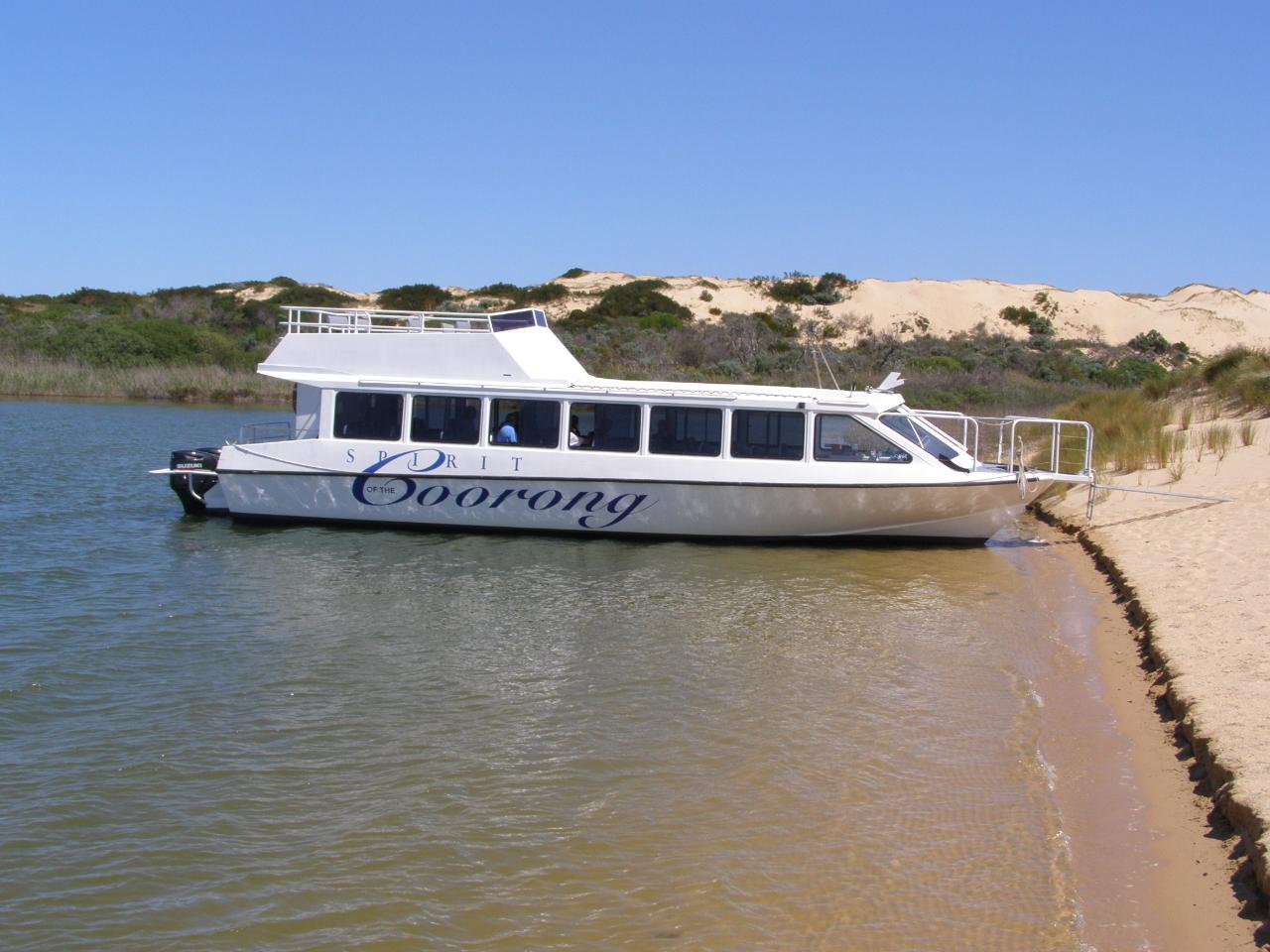 ZZZ - Spirit of Coorong River Murray Mouth  (Storm Boy Country) & Fleurieu Peninsula Tour - EX Adelaide, Glenelg & Hahndorf
