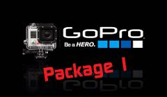 Double Go Pro hire with Photos and group video
