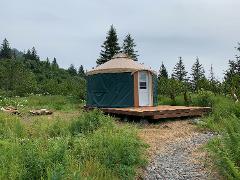 Bear Glacier Yurt Stay