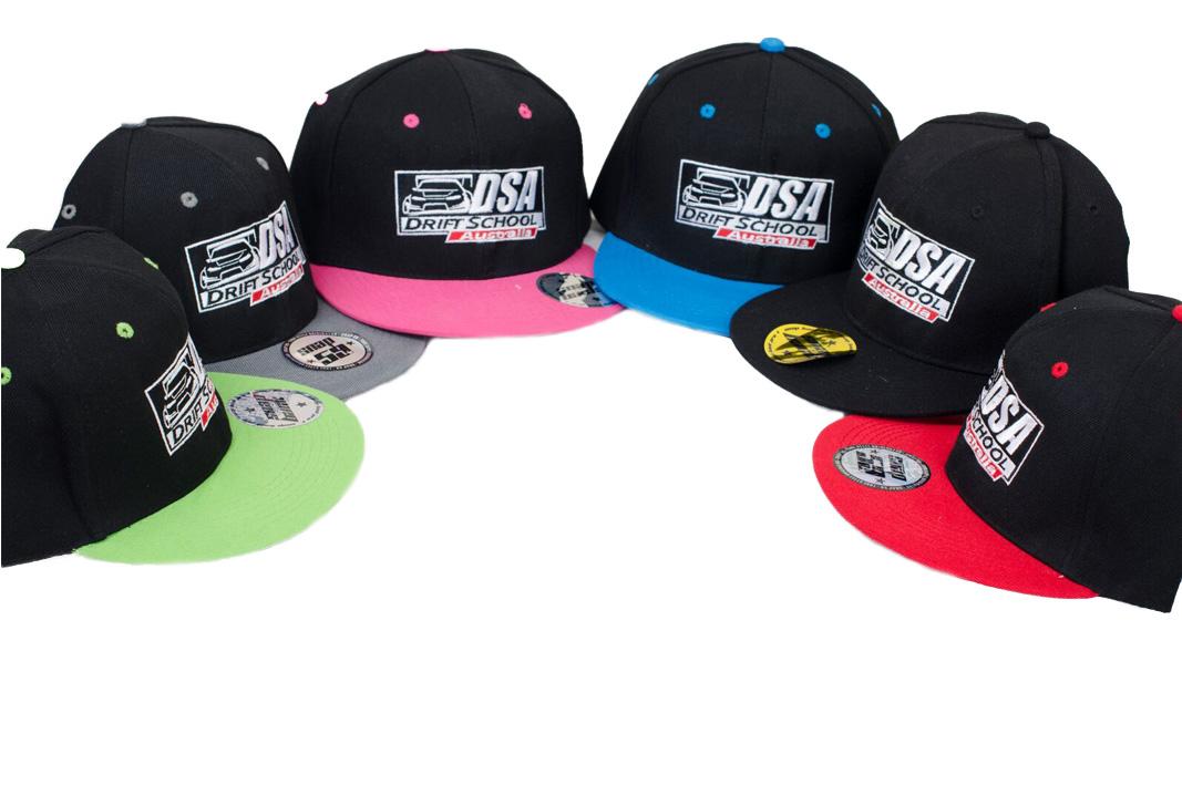 DSA Snap back caps