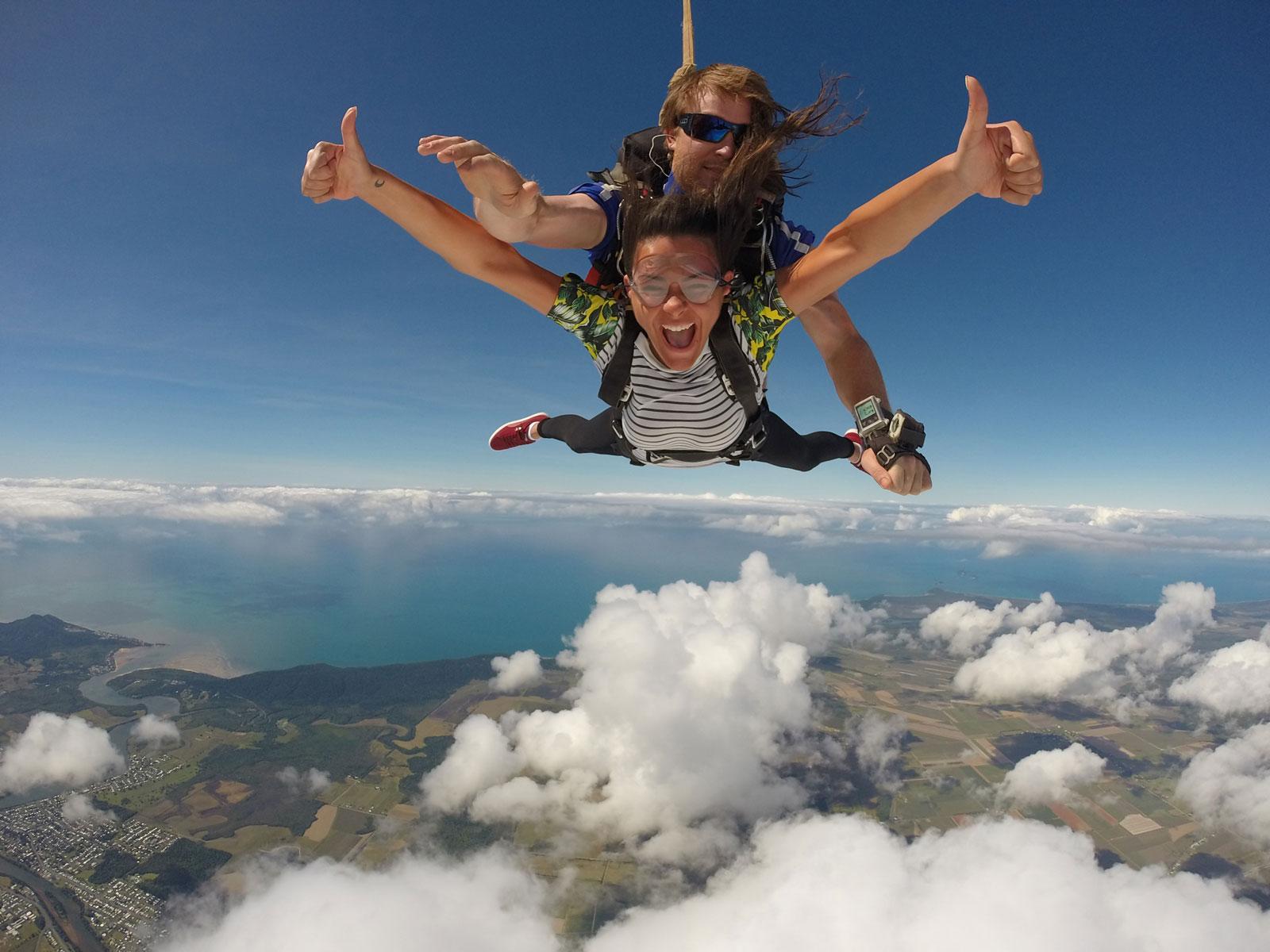 Tandem Skydive 14,000ft