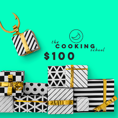 "$100 gift voucher ""the COOKING school"" - Sydney"