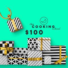 "$100 gift voucher ""the COOKING school"" - Sydney"