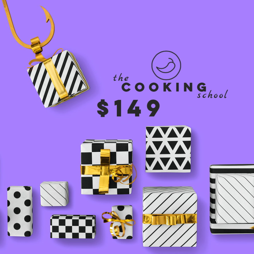 "$149 gift voucher ""the COOKING school"" - Sydney"