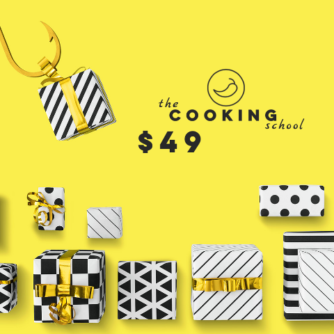 "$49 gift voucher ""the COOKING school"" - Sydney"
