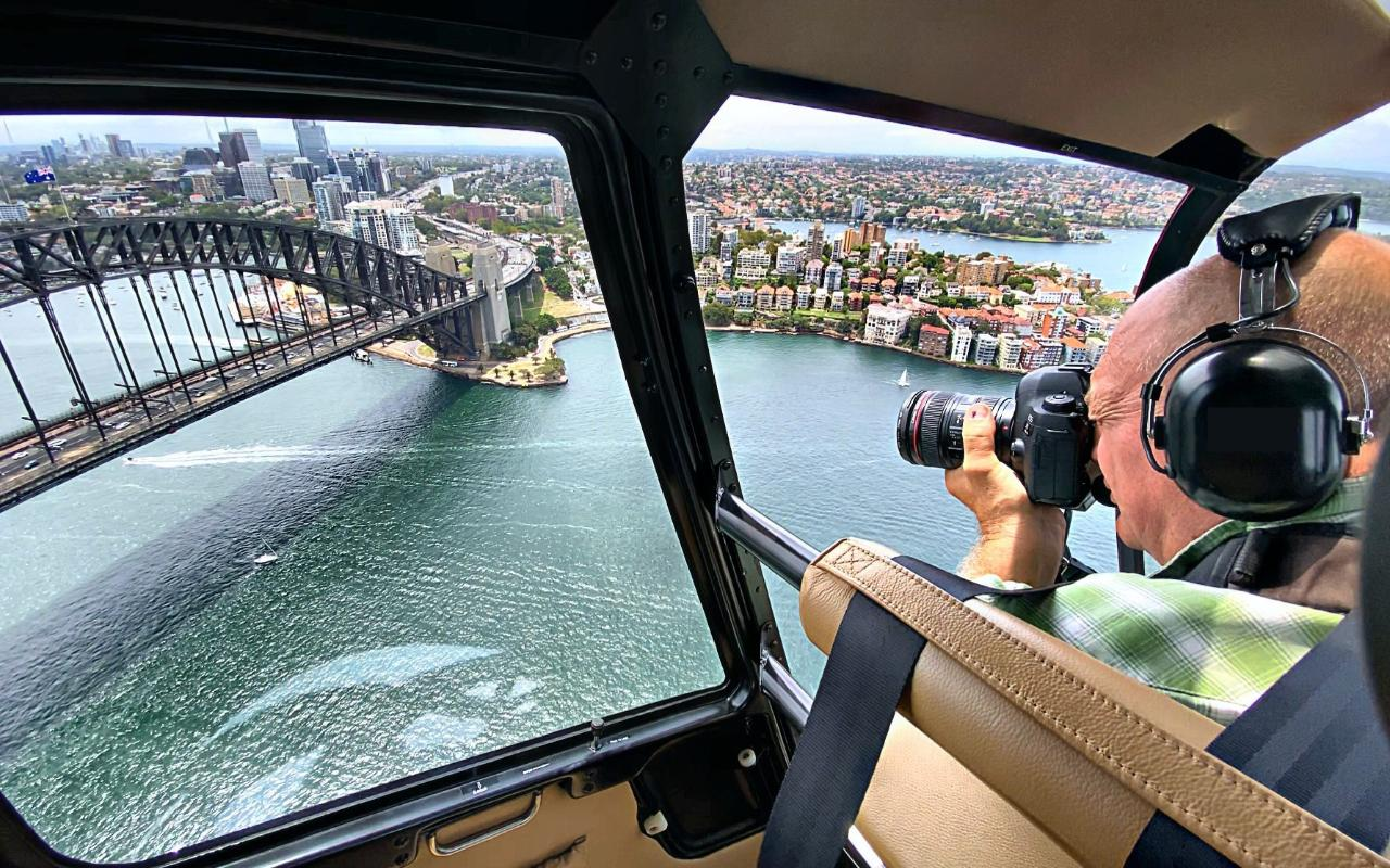 Flight 8b - Aerial Click Sydney Private flight Gift Card (30 Minutes)