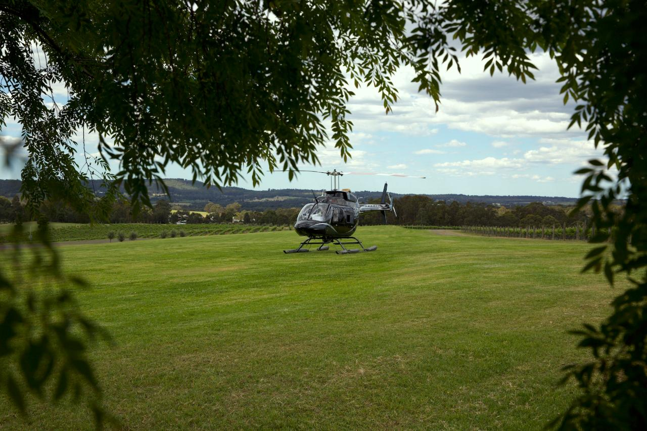 Flight 19a - Hunter Valley Helitour (5 Hours)