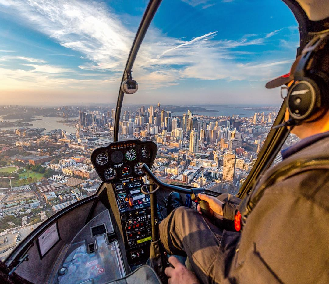 Flight 8x- Aerial Click Sydney Private Charter Gift Card (30 Minutes)