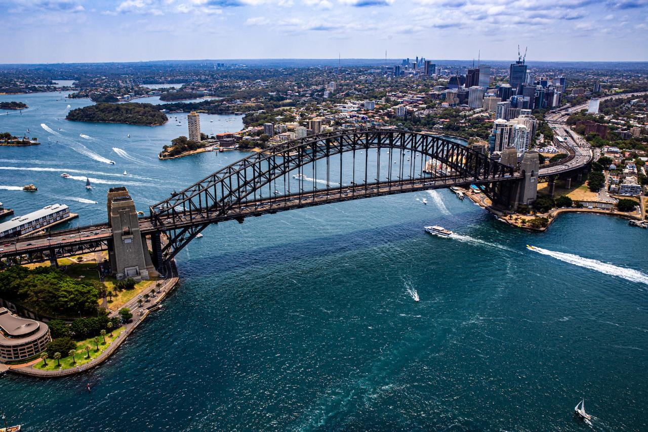 Doors Off Sydney Harbour Adventure