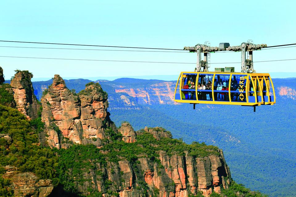 Flight 18 - Blue Mountains Helitour