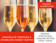 Chocolate Truffles & Sparkling Wines