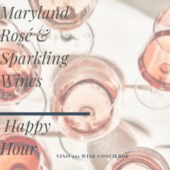 Happy Hour in the Courtyard: Rosé and sparkling wines tasting