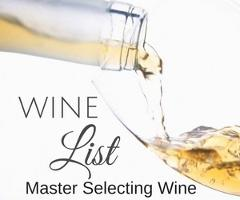 Master Selecting Wine for your Wedding or Special Event