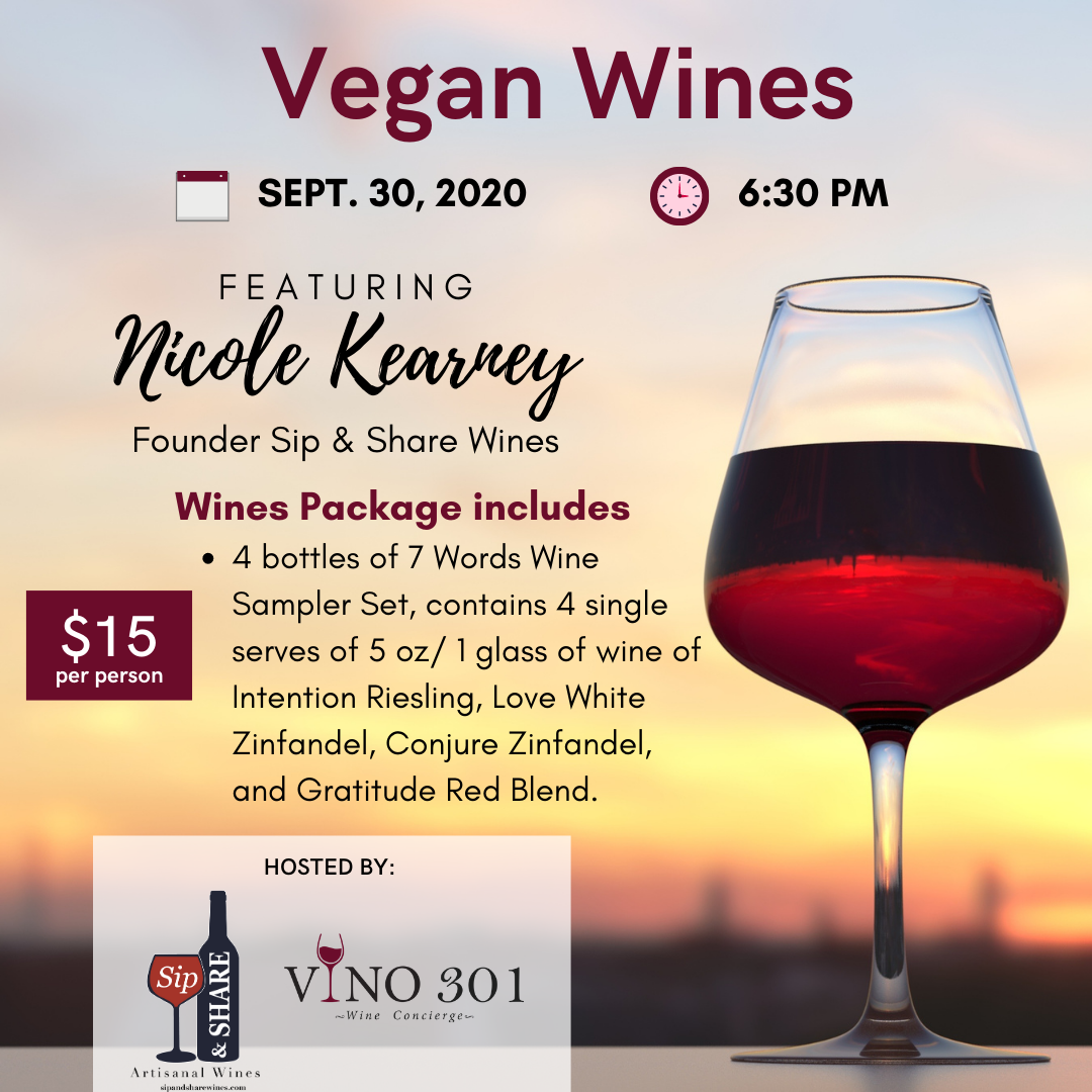 Vegan Wines Tasting
