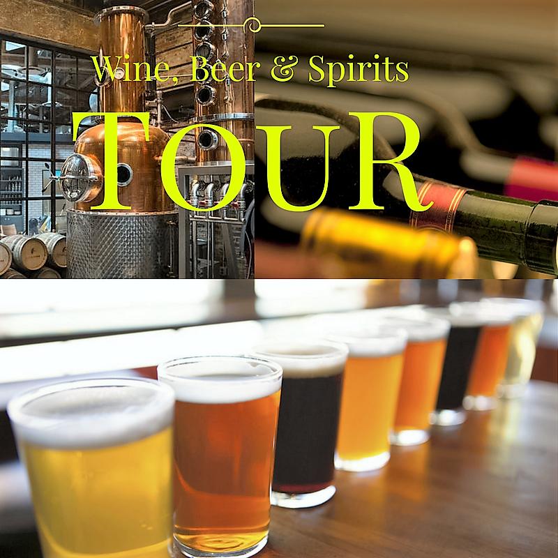 Wine, Beer & Spirit Tour:  A Beverage Adventure