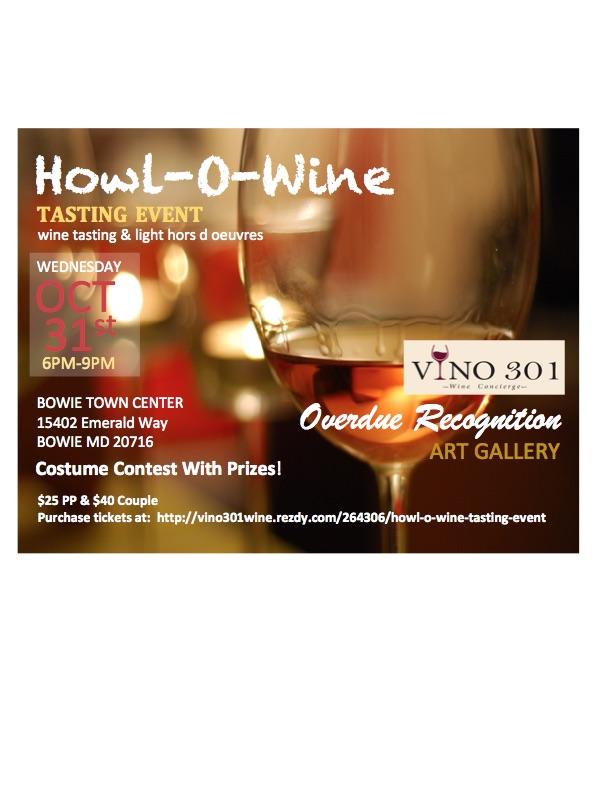 Howl -O-Wine Tasting Event