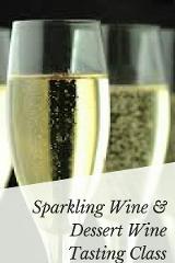 Sparkling Wine & Dessert Wine  Tasting Class