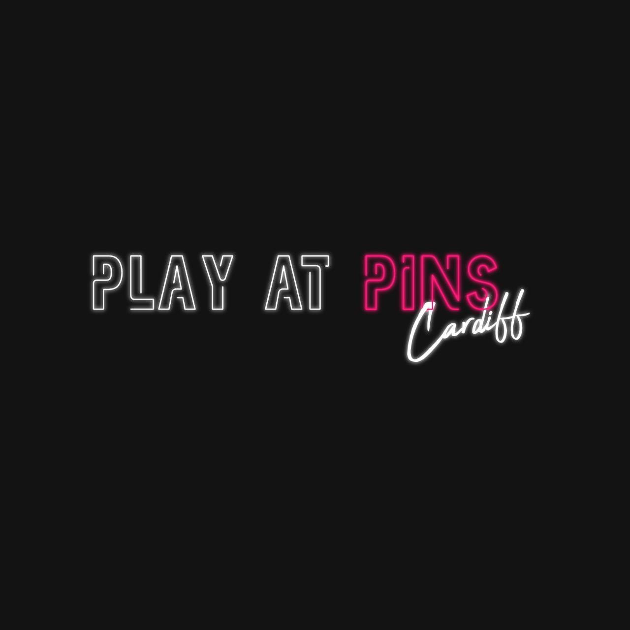 Play at Pins Bowling Game - Lane 1