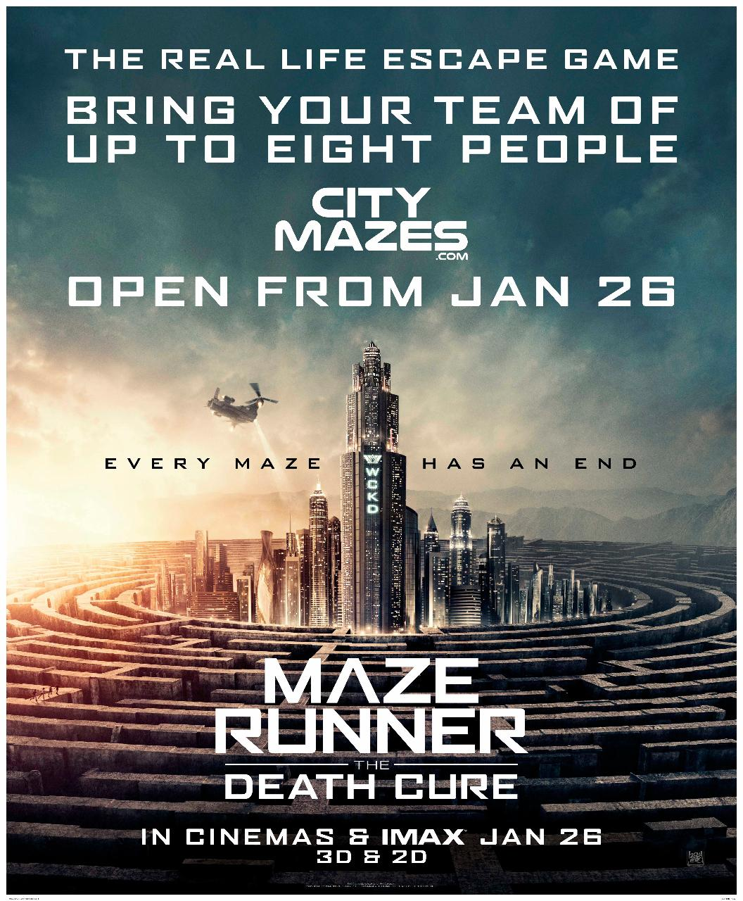NOT AVAILABLE Maze Runner  - The Capitol Escape