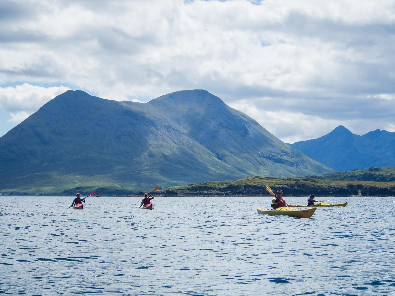 Sea Kayaking Session