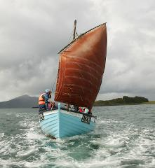 Sailing Session - Traditional Hebridean Fishing Boat