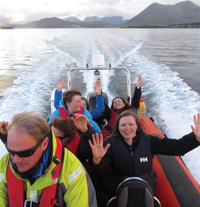 RIB Trip: Rona Island Day Trip