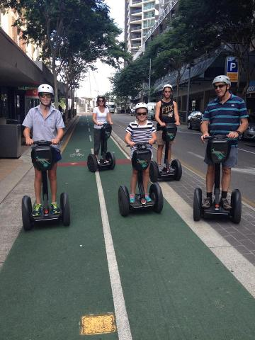 2 Hour 15 Minute Kangaroo Segway Brisbane Day Tour