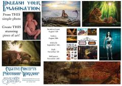 Creative Concepts and Photoshop (Photography Workshop Perth)