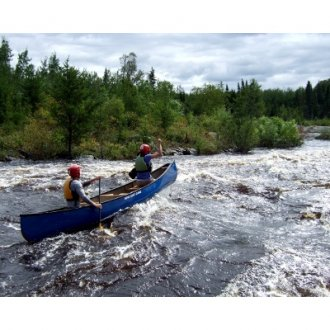 Introduction to Whitewater Tandem Canoe Skills