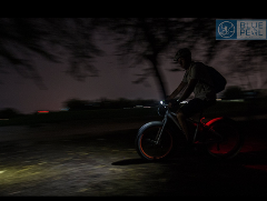 Moonlight biking Doha Golf Course