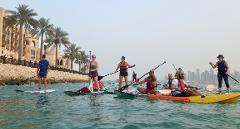 SUP & Kayak Team Cruisin' the Pearl-Qatar (10 pax)