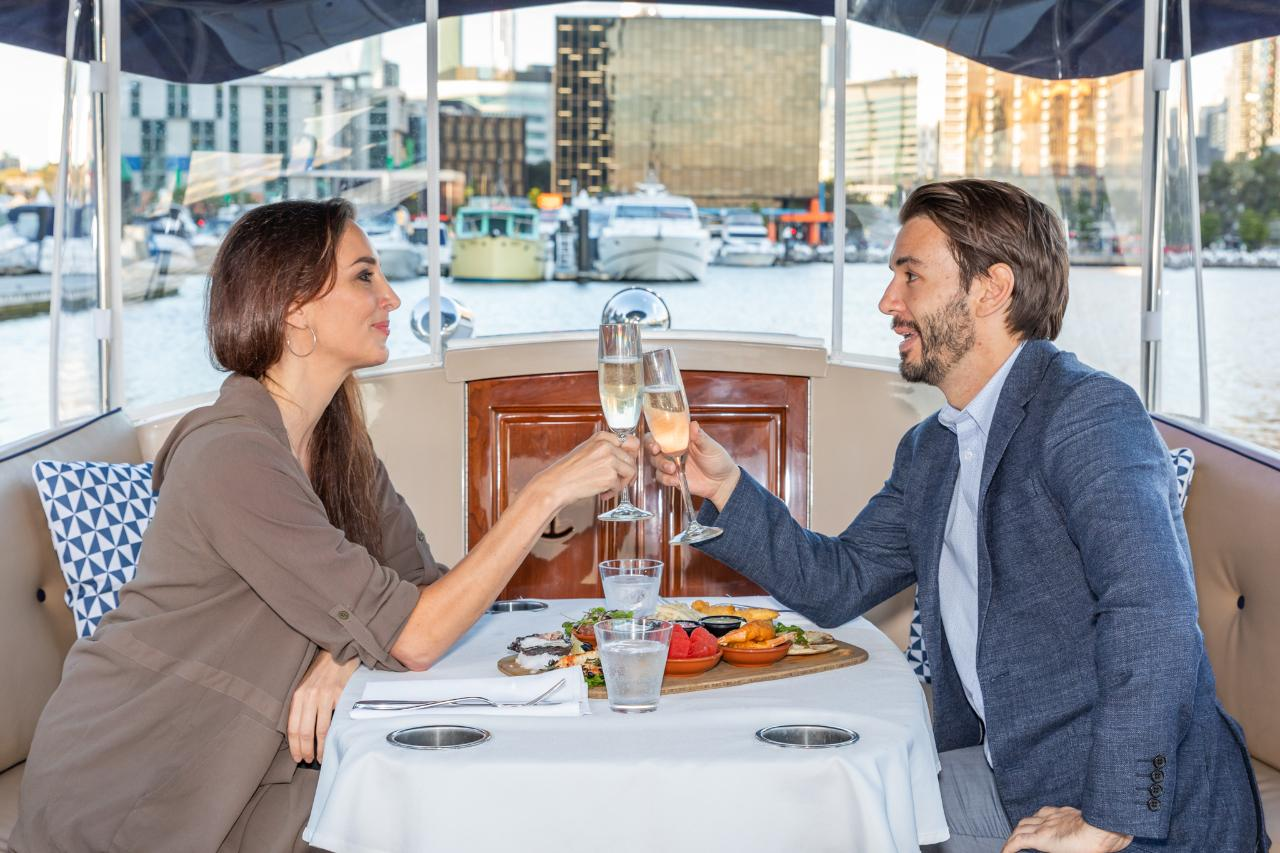 Luxury Private Romantic Lunch Cruise For 2