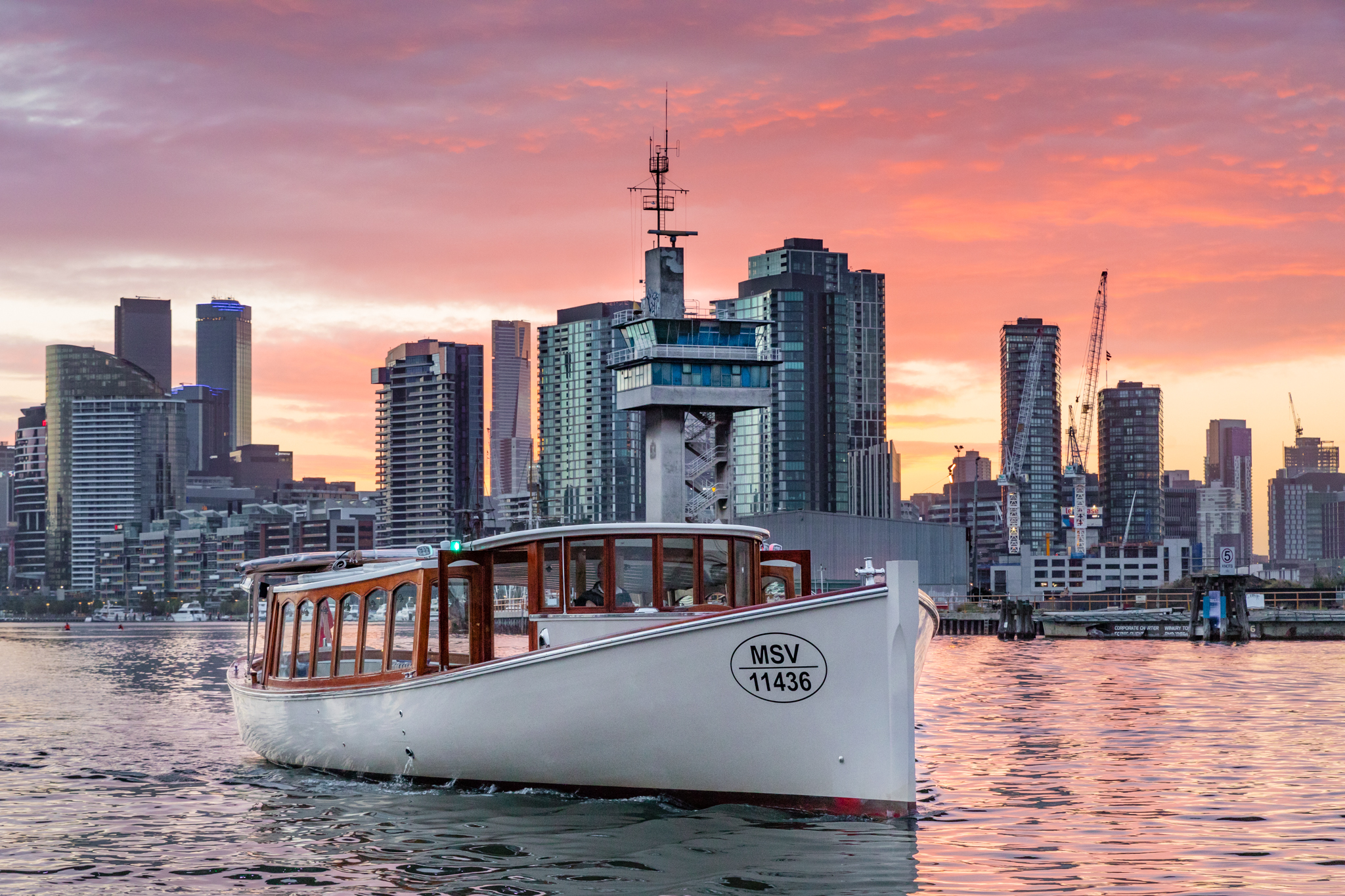 Melbourne's only Photography Cruise - Capture Melbourne from the best angle!