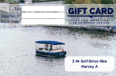 2 Hour Self-Drive Hire -Harvey A- Gift Card
