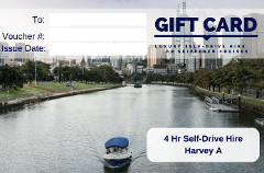 4 Hour Self-Drive Hire - Harvey A- Gift Card