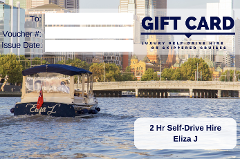 2 Hour Self-Drive Hire- Eliza J - Gift Card